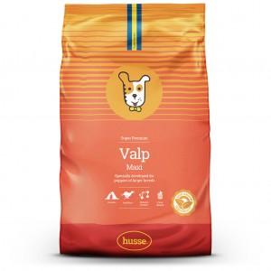 Valp Maxi: 15 kg.